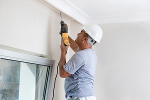 contractors alone in your house
