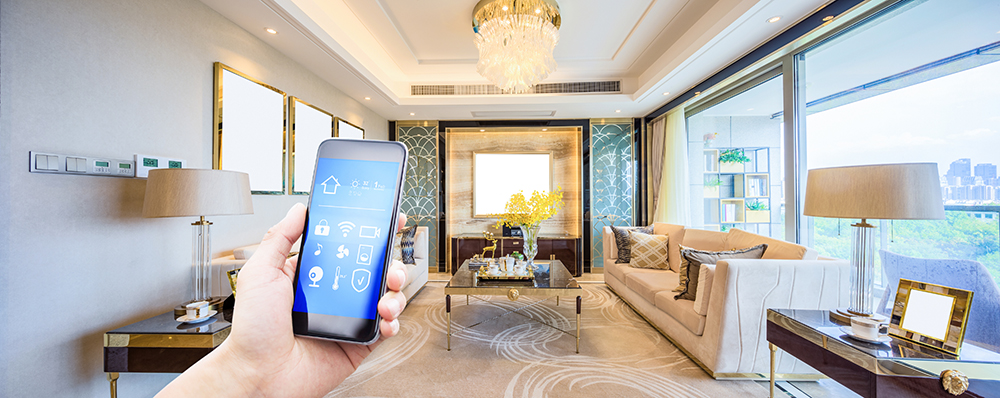 Obtaining total home control with a wireless home for Total home control