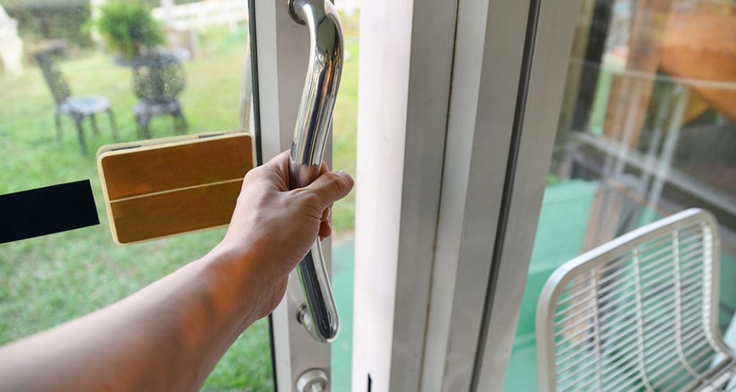 Let in Light, Not Burglars With Sliding Glass Door Security