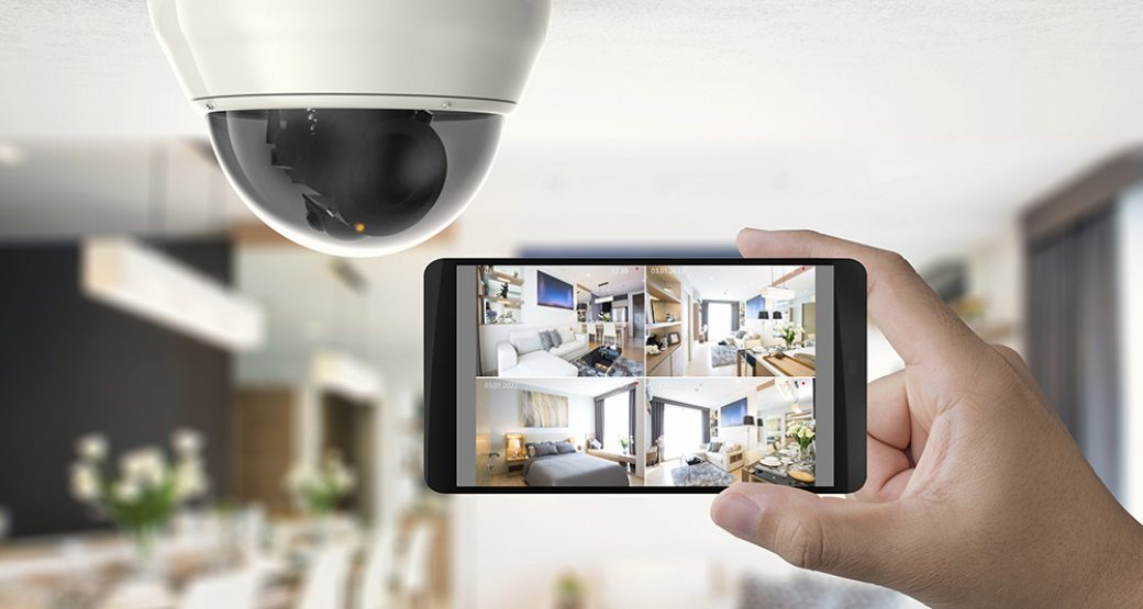 Mobile Control and Video Surveillance for Smart Home Security Systems